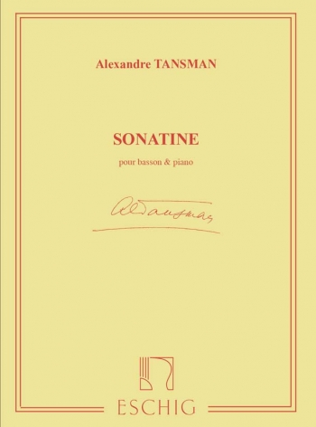 Sonatine: Bassoon and Piano (Eschig)