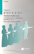 Quatre Motets Pour Un Temps De Penitence no3: Choir: (Salabert)