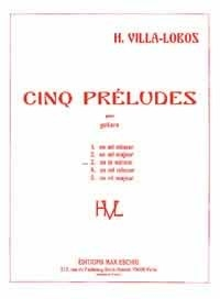 Prélude No 3 en la mineur: Guitar  (Eschig)