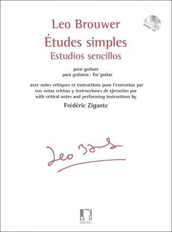 Etudes simples - Estudios sencillos: Guitr: (Eschig)