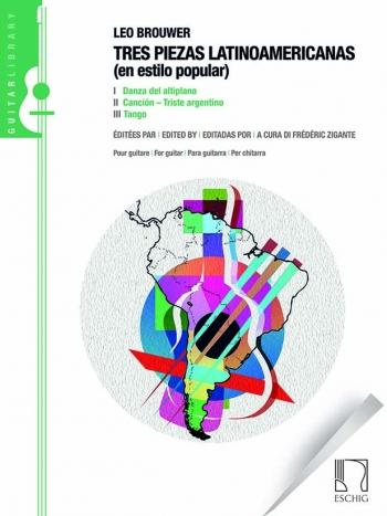 Tres Piezas Latinoamericanas (En Estilo Popular): Guitar: (Eschig)
