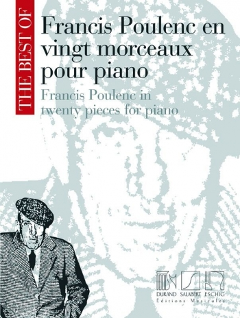 The Best of Francis Poulenc: Piano: (Salabert)