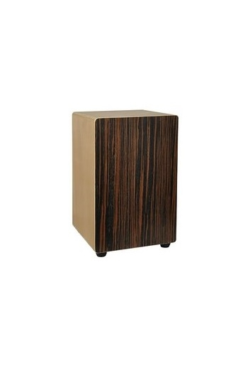 Cajon: Hayman: 30x30x48cm, Adjustable Snare, Ebony