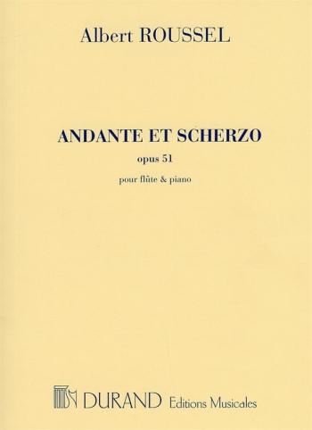 Andante et Scherzo Op 51: Flute and Piano (Durand)