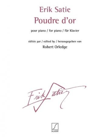 Poudre d'or: Piano (Salabert)
