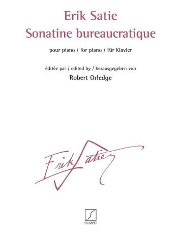 Sonatine bureaucratique: Piano (Salabert)