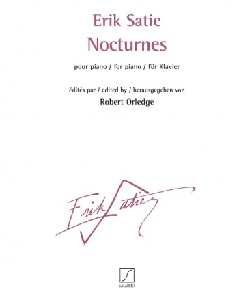 Nocturnes: Piano: (Salabert)