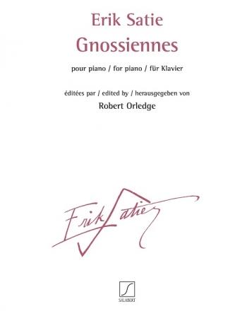 Gnossiennes: Piano: (Salabert)