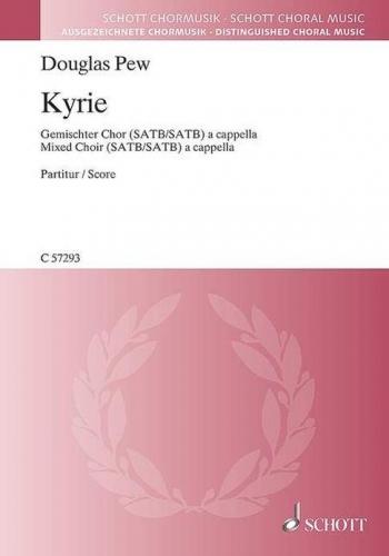 Kyrie: Choral Music Choir a Cappella (Schott)