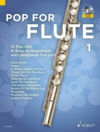 Pop For Flute Band 1: Flute & CD