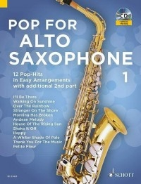 Pop For Alto Saxophone Band 1:  Saxophone & CD