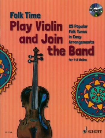 Folk Time: String Instruments: Violin  & CD