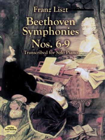 Symphonies Nos 6-9 For Solo Piano (Dover)