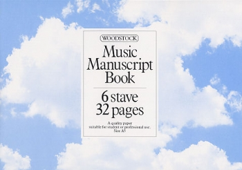 Manuscript: 6 Stave - 32 Pages (A5L Stitched) Woodstock
