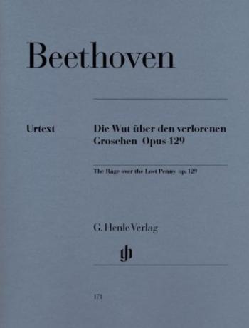 Alla Ingharese Quasi Un Capriccio G Major The Rage Over The Lost Penny Op. 129: Piano