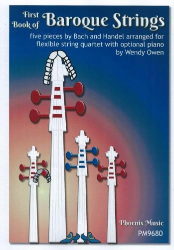 First Book Of Baroque Strings: Grade 3 Score & Parts