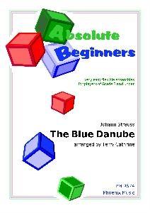 Absolute Beginners: The Blue Danube: 4 Part Flexible Ensemble: Score & Parts (cathrine)
