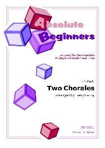 Absolute Beginners: Two Bach Chorales  4 Part Flexible Ensemble: Score