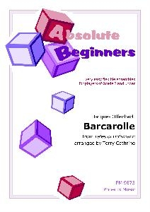 Absolute Beginners: Barcarolle: 4 Part Flexible Ensemble: Score & Parts
