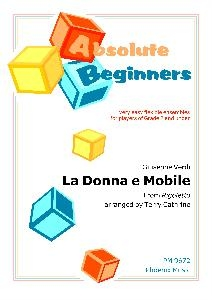Absolute Beginners: La Donna E Mobile: 4 Part Flexible Ensemble: Score & Parts