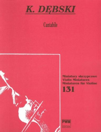 Cantabile For Violin & Piano (PWM)