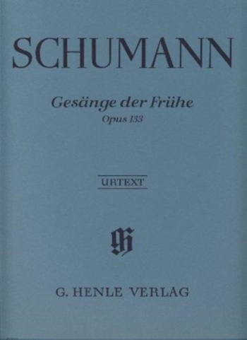 Gesange Der Fruhe (Songs Of Morning): Piano (Henle)