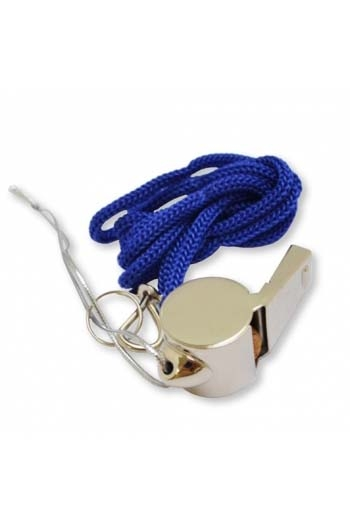 Ornament Whistle On Blue Cord