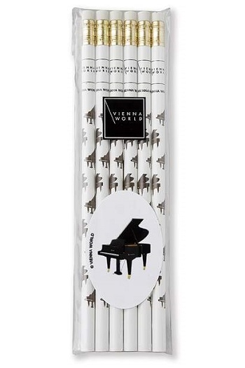 Pencil Set Piano - 6 Pack