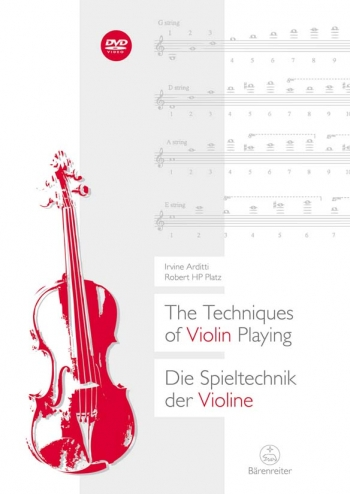 Techniques of Violin Playing, The (E-G). : Book Paperback: (Barenreiter)