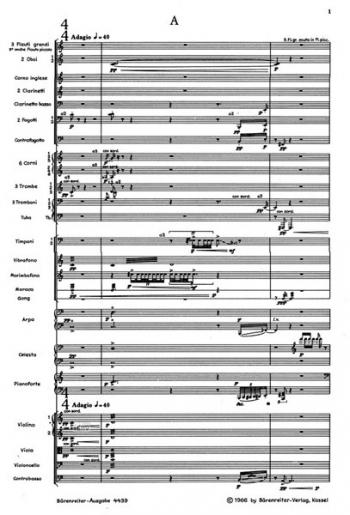 Mikrographien, Op.24 : Study score: (Barenreiter)