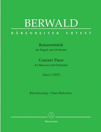 Concert Piece for Bassoon, Op.2 (1827) (Urtext). : Bassoon: (Barenreiter)