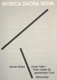 Unser Vater; Pater noster (1980). : Choral: (Barenreiter)