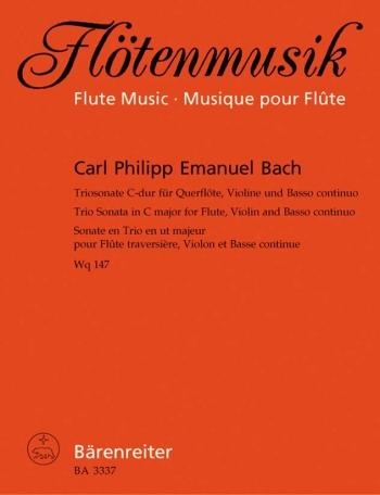 Trio Sonata in C (Wq 147). : Mixed Ensemble: (Barenreiter)