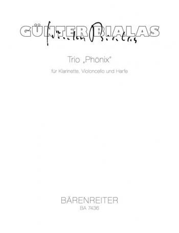 Trio: Phoenix : Mixed Ensemble: (Barenreiter)