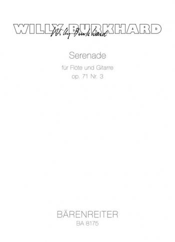Serenade, Op.71/ 3 (1945). : Mixed Ensemble: (Barenreiter)