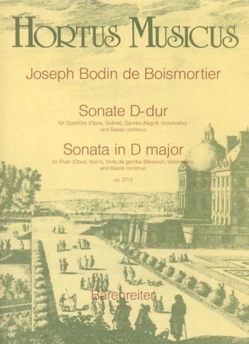 Sonata in D, Op.37/3. : Mixed Ensemble: (Barenreiter)