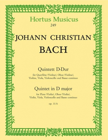Quintet in D, Op.11/ 6. : Mixed Ensemble: (Barenreiter)