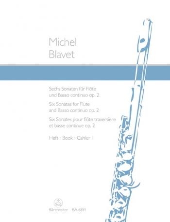 Flute Sonatas Op.2, Vol.1 (G maj, D min, E min). : Flute & Piano: (Barenreiter)