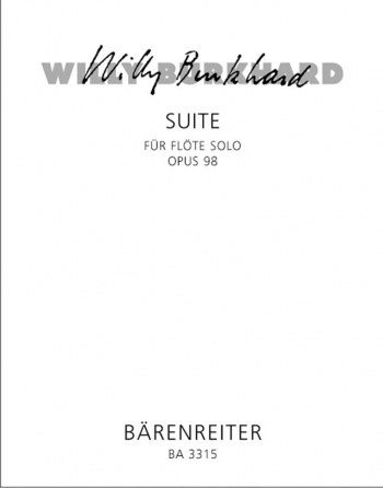 Suite, Op.98. : Flute Solo: (Barenreiter)