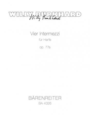 Intermezzi (4), Op.77a. : Harp: (Barenreiter)