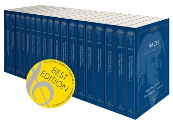 Complete Cantatas in Paperback.  19 Volume Study Score Edition (Urtext). (Including Choral