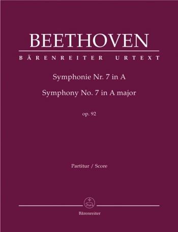 Symphony No.7 in A, Op.92 (Urtext). : Large Score Paperback: (Barenreiter)