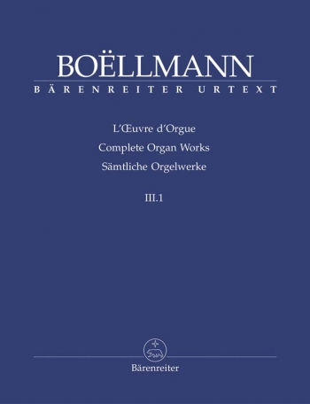 Organ Works, Vol.3/1 (complete) (Urtext). Heures mystiques Op.29/30 Part 1.: Organ: (Barenreiter)