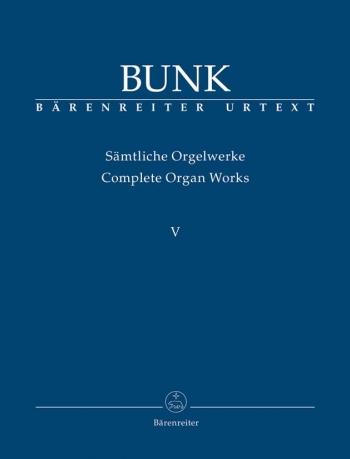 Organ Works Vol.5, Op.65, Op.80, Op.81 (Urtext). : Organ: (Barenreiter)