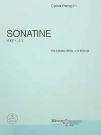 Sonatina F Op.18/2. : Treble Recorder & Piano: (Barenreiter)