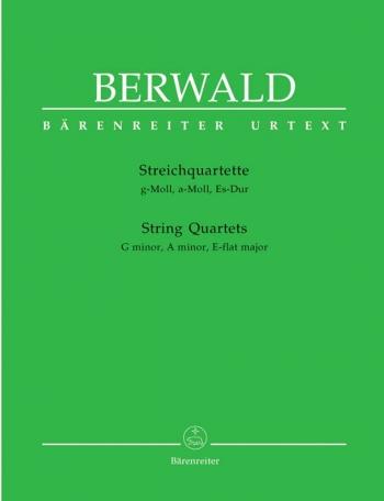 String Quartets (G min, A min, E flat maj) (Urtext). : String Quartet: (Barenreiter)