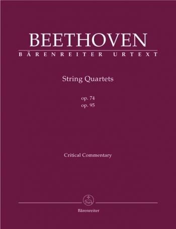 String Quartets, Op.74 & 95 (Urtext). : String Quartet: (Barenreiter)