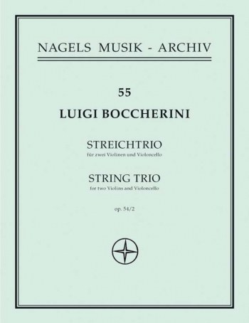 String Trio in G, Op.54/2. : String Trio: (Barenreiter)