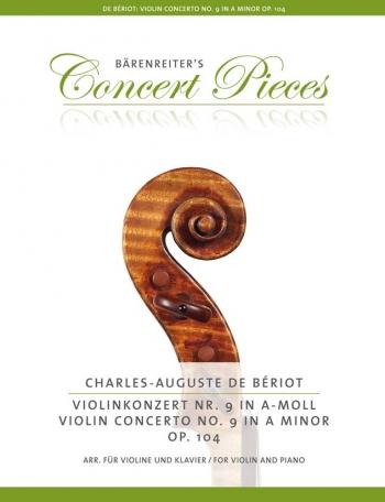 Violin Concerto A mInor No.9 OP.104. Violin & Piano (Barenreiter)