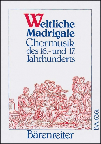Sacred Madrigals.  Choral Settings from 16th-17th Centuries (G). : Choral: (Barenreiter)